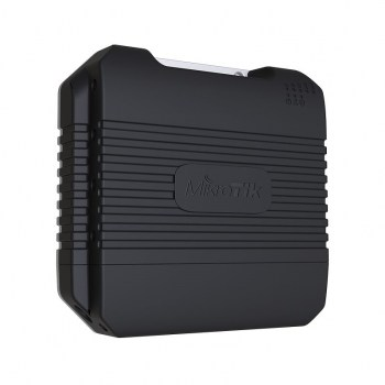 LtAP  access point compatto wireless :880MHz Mediatek CPU, 2.4GHz radio, 2x miniPCIe, 2x MMCX, built-in GPS