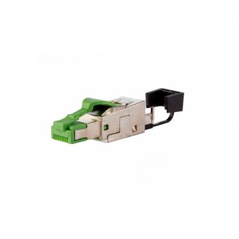 BTR CONNETTORE E-DAT Industry rj45 field plug Black 6 cat ip20