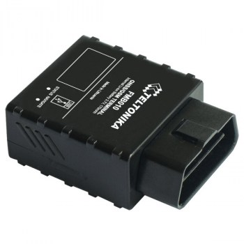 FMB010 An easy Plug and Track real-time tracking terminal with GNSS, GSM and Bluetooth connectivity