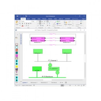 IzoT CT Professional Edition with Visio