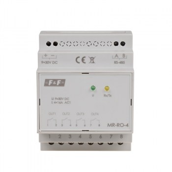 FF-MR-RO-4: Modulo 4 uscite a RELAY