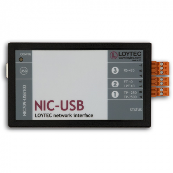 NIC709-USB100 LON Interface for USB