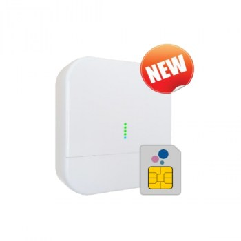 SIN.EQRPT868XM: ALL-IN-ONE , gateway – repeater – SIM Card, max 200 misuratori WMBUS