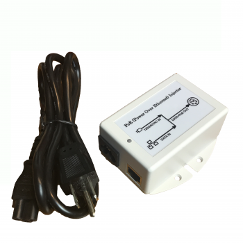 TP-POE-48D  : 48V 18W 10/100Mb Active PoE Power Inserter, Surge Protected, 802.3af compliant, EU Power Cord