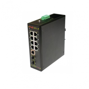 TP-SW8G-2SFP   8 POE Managed Industrial PoE+ Switch