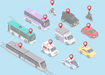 bigstock-Isometric-d-Transport-Set-Fla-114928778