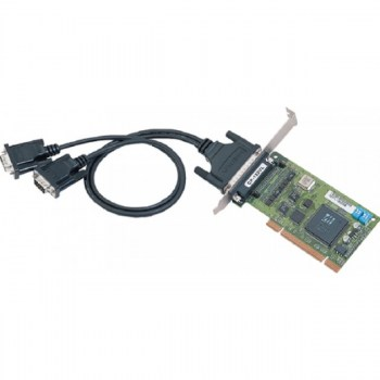 MOXA:Scheda seriale 2 Port UPCI Board, w/ DB9M Cable, RS-422/485, Low Profile