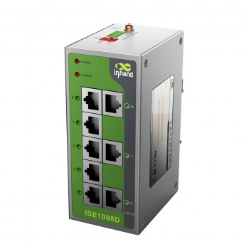 ISE 1008D Entry-level Ethernet Switch, 8 porte Ethernet