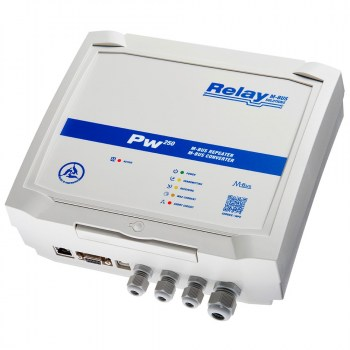 PW 250: M-Bus levelconverter and repeater for 250 devices