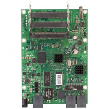 Mikrotik RouterBOARD RB433GL: Level 5, 680MHz Licenza RouterOS: Level5, PoE: 8-28 V DC su Ether1, Gigabit