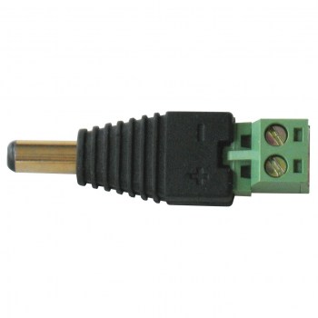 RJ45-SCREW:Adapter RJ45 male > Terminal Block 8 pin 2-parts