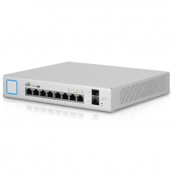 US-8-150W:Managed PoE+ Gigabit Switch with SFP