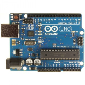 MARDUINO BOARD UNO R3 - compatibile con i software e gli shield Arduino