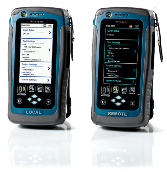WIREXpert 500 IE: The most affordable tester for copper LAN cabling certification