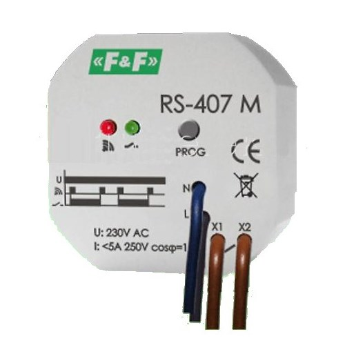 RS-407-M: Relè impulsivo wireless
