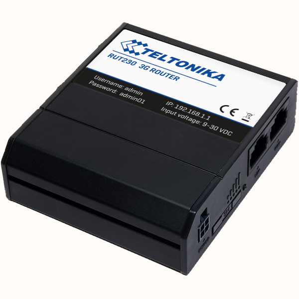 Teltonika Router RUT230 3G UMTS con WiFi