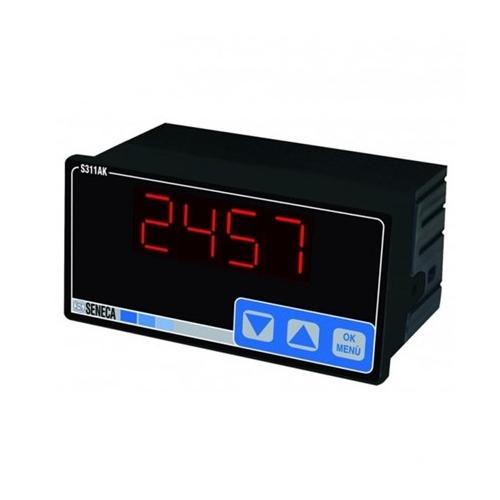S311AK SENECA Indicatore ad alta precisione a 4 cifre con ingresso analogico I/V