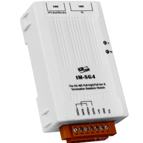 Active termination resistance - RS485 networks