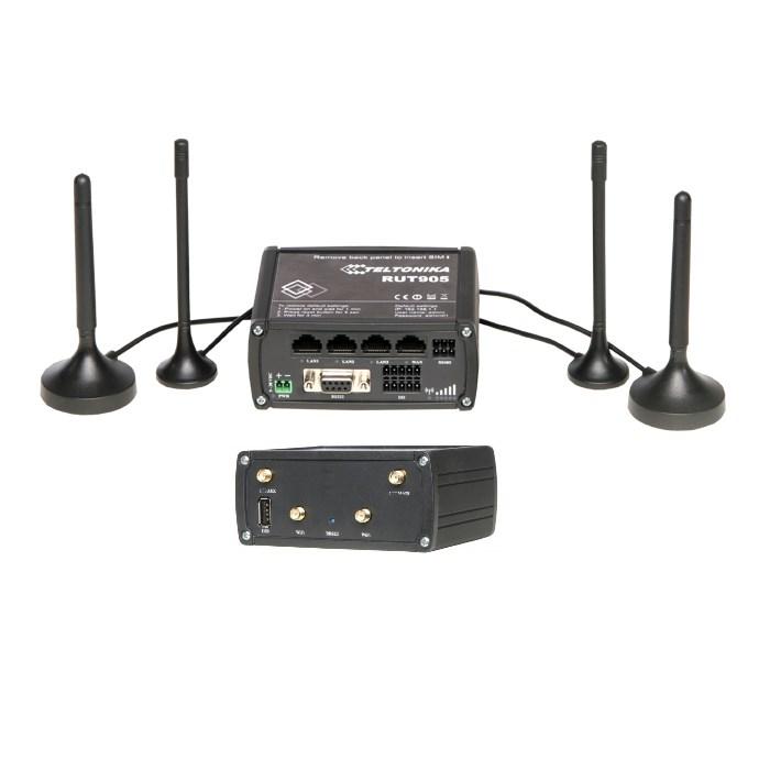 Teltonika Router 2G/3G RUT 905 con seriale ed IO