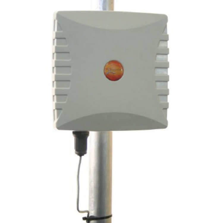 WLAN-0061:2.4GHz & 5GHz Dual Band 4X4 MIMO Directional Wi-Fi  Antenna - 2400 - 2500 MHz & 5000 - 6000 MHz - Max.  Gain: 11 dBI - IP-65 - BRKT-16 incl.