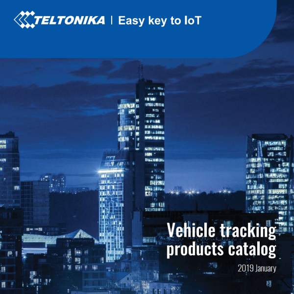 vehicle tracking catalog 2019